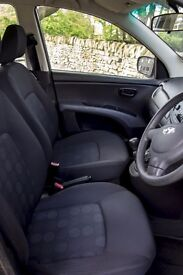 Low mileage metallic Gray i10 in excellent condition for sale.