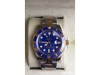 Rolex submariner gold/silver bi metal luxury automatic divers watch oyster brand new in Swiss box