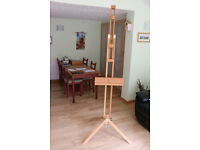 Windsor and Newton, Artist's easel, wood, freestanding, max 2 m tall