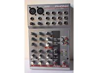 Phonic AM85 mixer