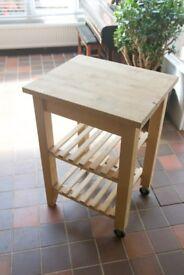 Ikea Butcher's Block Table