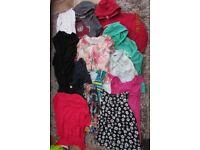 Ladies/Girls Bundle of clothes. Size 12. VGC. 14 items. £13.50. Torquay. Hoodies, tops, leggings.