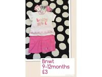 Girls 3pc set brand new with tags