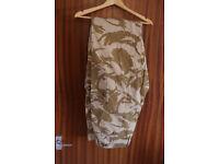 Combat Desert DP trousers windproof NEW. SIZE 90/104/120