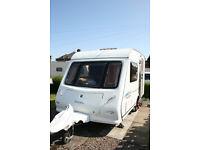 2006 Touring Caravan 2 Berth 12ft Elldis Avanti Firestorm