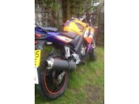 Honda CBR 125 *spares or repairs* no MOT, full details in description.