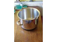Stellar maslin / jam pan, 28cm, 12 liter, stainless steel
