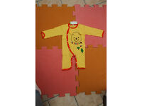 NEW Baby Boys Girls Winnie the Pooh Bodysuit Outfit Costume Romper 9-12, 12-18 for sale