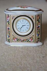 Two lovely little Wedgwood Clocks