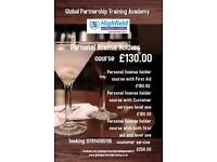 Personal license and SIA courses in essex