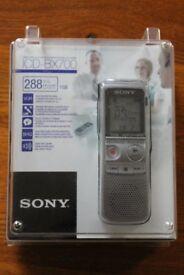 Sony Digital Dictaphone ICD-BX700