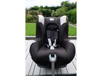 Britax Romer First Class Plus Rearward/Forward Facing Car Seat - Cosmos Black - plus free car mirror