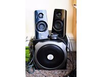 Trust 2 speakers + Subwoofer + Controller