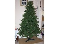 6ft Artifical Christmas Tree with stand