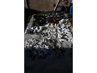 Plumbing items, drainage, gutter, waste job lot