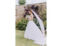 Wedding Dress by Essense of Australia D1919