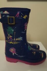 Joules Girls Wellies