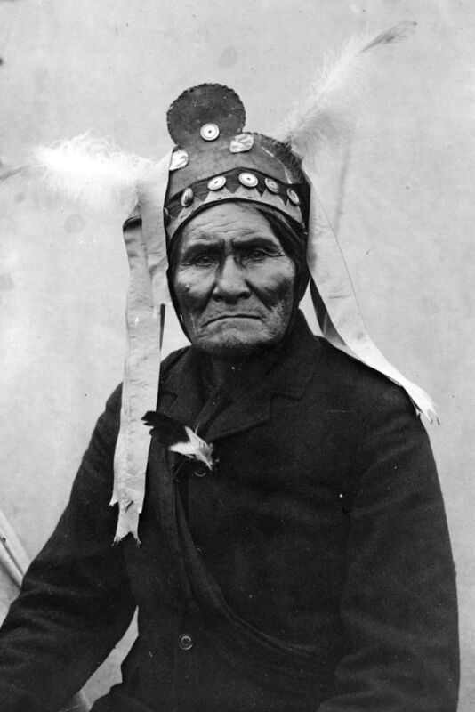 New 5x7 Native American Photo: Geronimo, Chief of the Bedonkohe Apache Indians
