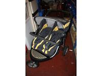 Urban Detour Odyssey Twin 3-Wheeler Pushchair / Buggy
