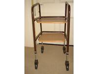 Walker Trolley with shelves