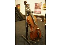Antique Hopf violin with case and bow. Can be posted UK wide or further