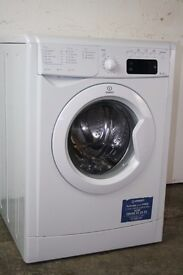Indesit 8kg washing machine, Excellent Condition, 6mo Warranty, Delivery and Install Available