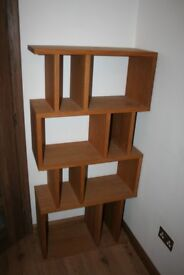 Wooden Shelving Unit Bookcase only £100