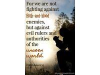 A Spiritual war.
