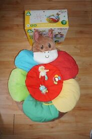 ELC Mothercare Blossom Farm Play Nest / Sit Me Up Cosy RRP £45