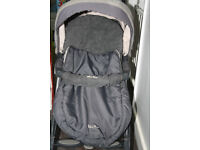 Silver Cross 3D Pram and Pushchair with Car Seat