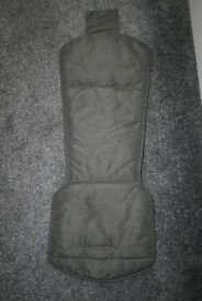 ABC Design Zoom pram seat LINER - grey CAN POST