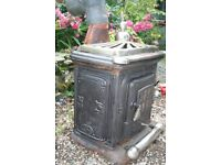 Very Old Woodburning/multifuel stove just taken out of use, as needed fire back boiler