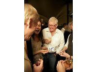 Magic Lessons London. Magic Tricks Lessons. Close-Up Magic London Magician. Lessons Gift Idea.