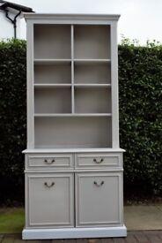 Grey Welsh Dresser / Farrow & Ball Purbec Stone