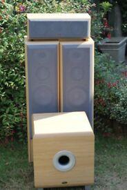 Eltax Speakers, Subwoofer & Amplifier