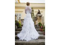 COSMOBELLA Milano Wedding Dress Only Worn Once! SIZE 8 or 10 - FANTASTIC CONDITION!