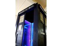 Police Box (Tardis) Photo booth full size replica