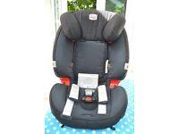 Britax Romer Evolva 1-2-3 car seat 9 - 36 kg in black - excellent condition