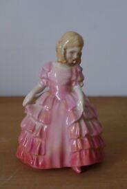 Collectible/collectable: ROSE, No. HN 1368. Vintage Royal Doulton Bone China Figurine.
