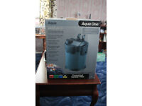 aqua one UV-C 2450 external filter with UV