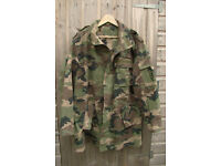 Slovakian Army Woodland Parka / Jacket - Large