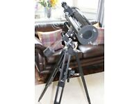 Tasco 4.5inch/114mm Newtonian reflector telescope