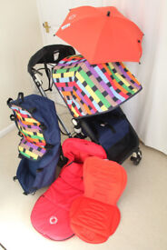 Bugaboo Cameleon buggy, Missoni limited edition and loads of accessories