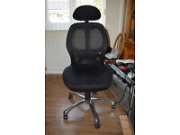 COMFORTABLE OFFICE CHAIR HARDLY USED