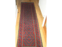Handmade, Pure woolen, Afghan Runner Carpet £99- Reduced for quick sale