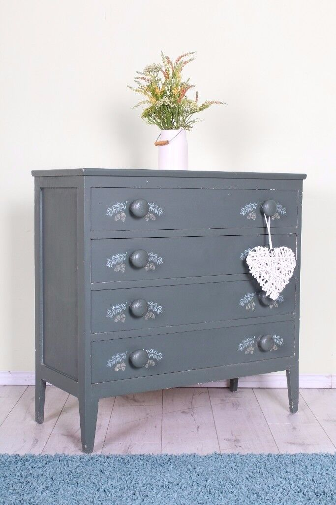 DELIVERY OPTIONS - 4 DRAWER PAINTED CHEST OF
