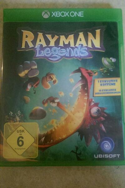 xbox one rayman legends in hessen kassel x box. Black Bedroom Furniture Sets. Home Design Ideas