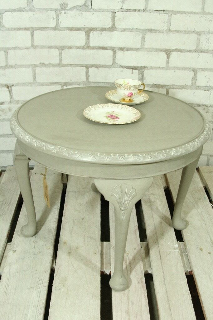 ornate queen anne shabby chic coffee table in bearsden glasgow gumtree. Black Bedroom Furniture Sets. Home Design Ideas