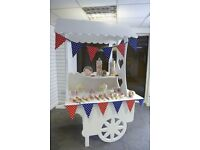 Sweet Cart for Hire for Special Occasions and Events - Staffordshire area