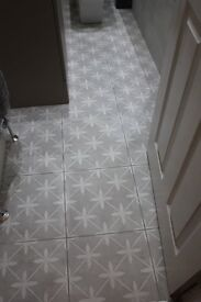 Laura Ashley The Heritage Collection Wicker Dove Grey Floor Tile